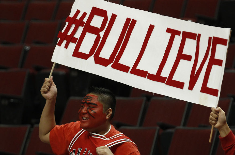 """Čikagos """"Bulls"""" gerbėjas"""