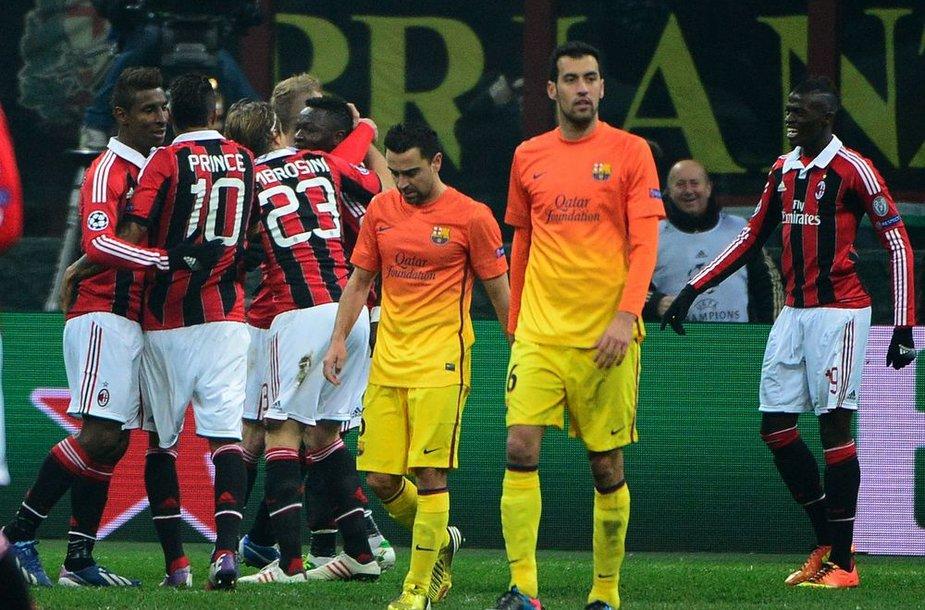 """Milan"" triumfas"