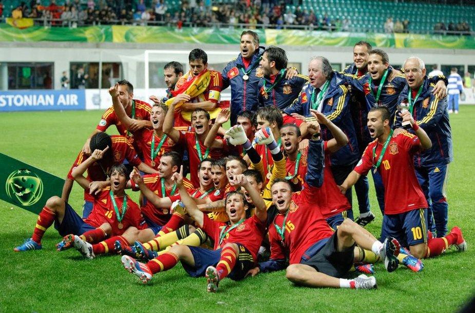 Ispanijos U-19 futbolo rinktinė