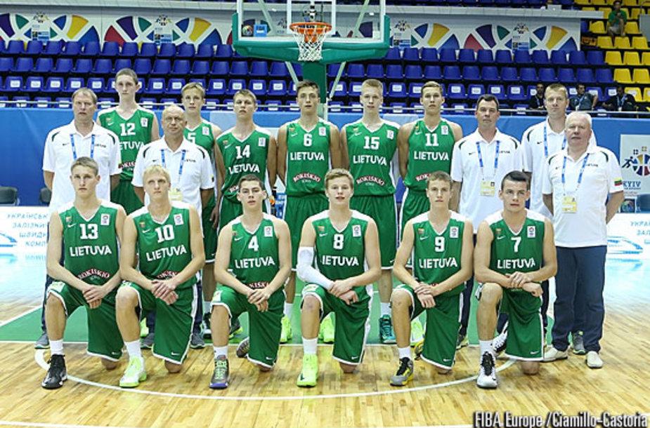 Lietuvos U-16 vaikinų krepšinio rinktinė