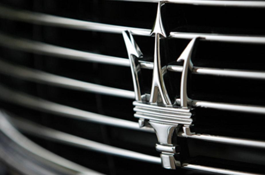 Maserati ženkliukas