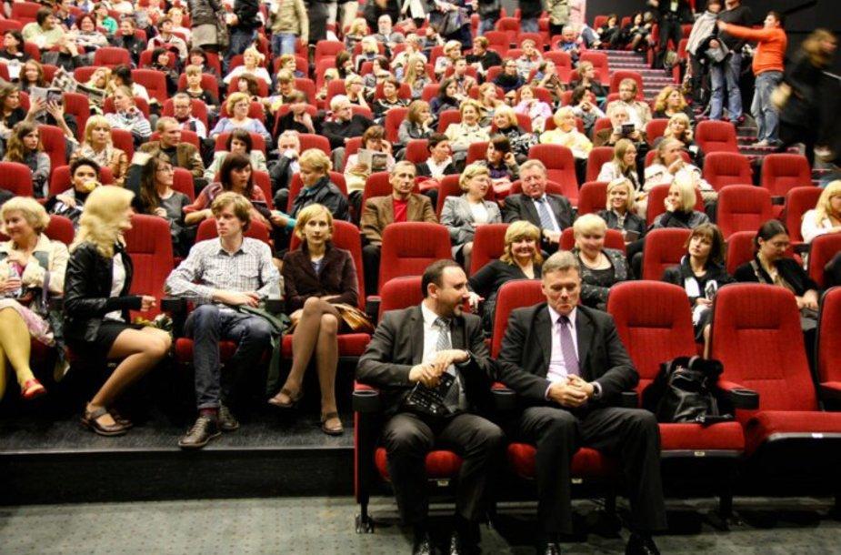 Tarptautinio Kauno kino festivalio atidarymo akimirka