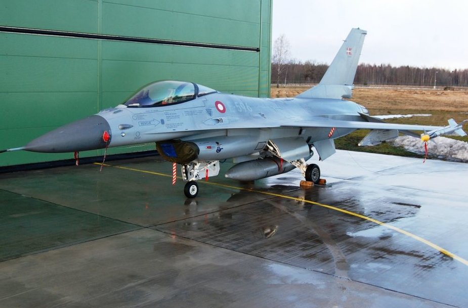 Baltijos šalių oro erdvę saugos Danijos kariai
