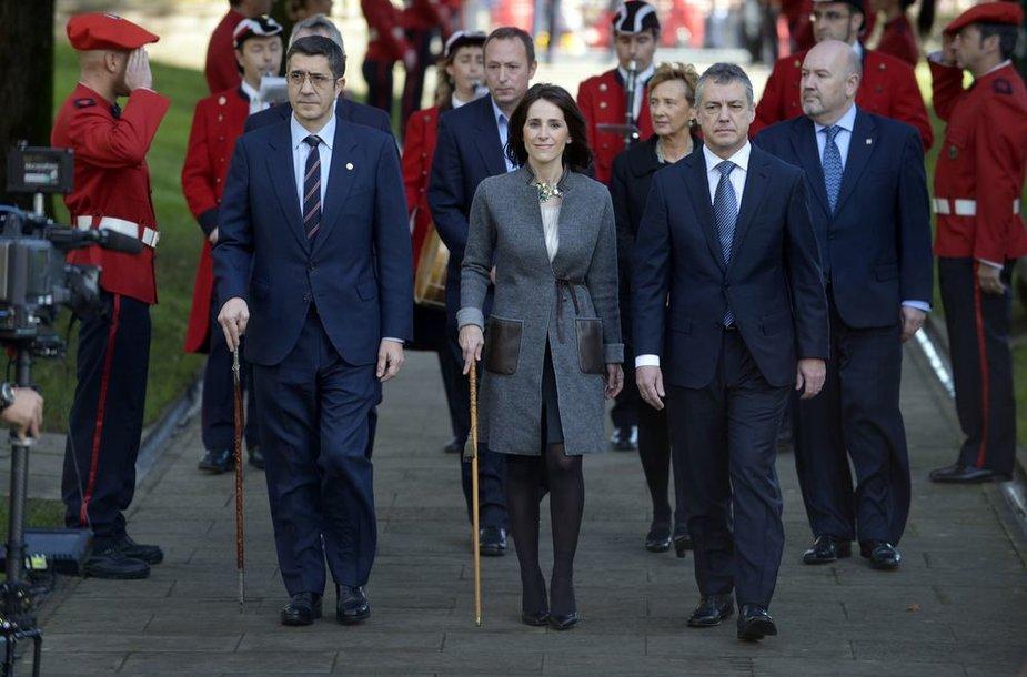 """Baskų partija """"Batasuna"""" nutraukia savo veiklą Prancūzijoje"""