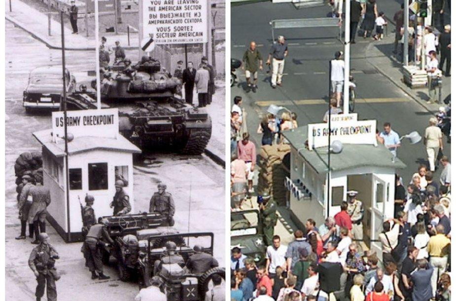 Čarlio postas (Checkpoint Charlie) 1961 ir 2000 m.