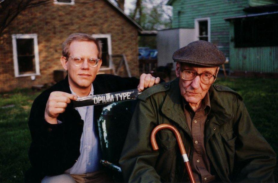 """Kadras iš filmo """"William S. Burroughs iš vidaus"""""""