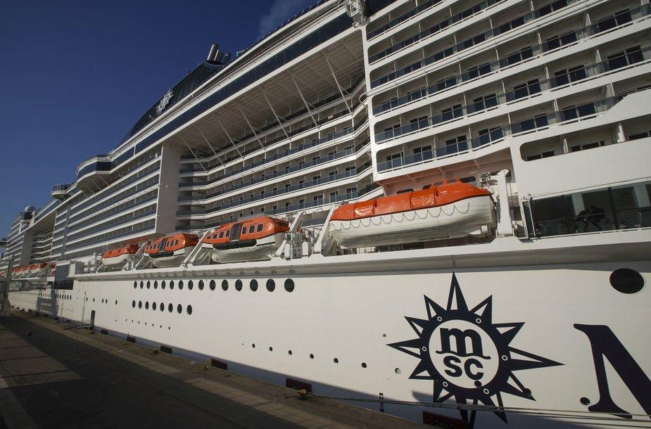 """""""MSC Grandiosa"""" kruizinis laivas"""