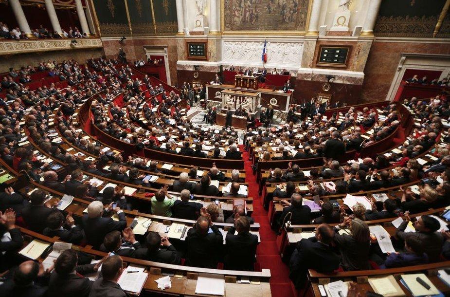 Nacionalinė asamblėja balsavimo metu