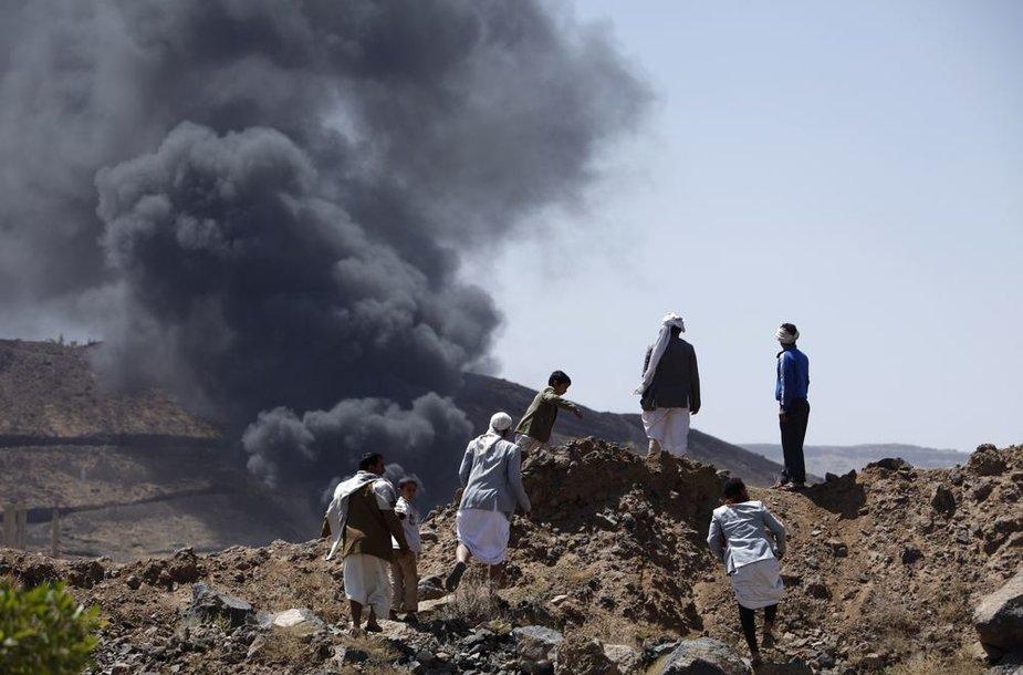 Sprogimas Jemene