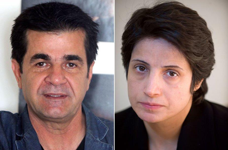 Jafaras Panahi ir Nasrin Sotoudeh