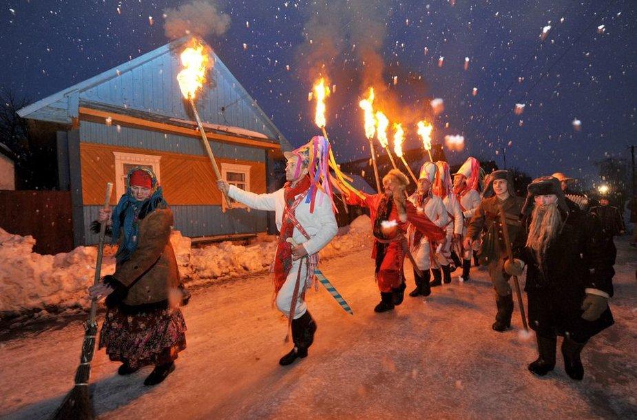 Naujieji metai Baltarusijoje