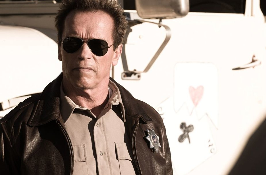 """Arnoldas Schwarzeneggeris juostoje """"Paskutinė tvirtovė"""""""