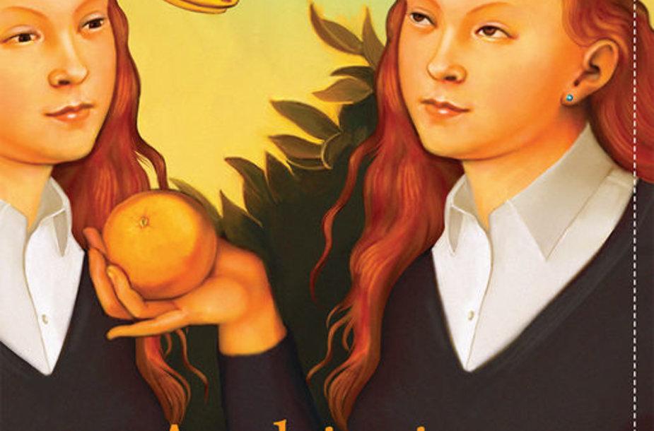 """Jeanette Winterson knygos """"Apelsinai – ne vieninteliai vaisiai"""" viršelis"""