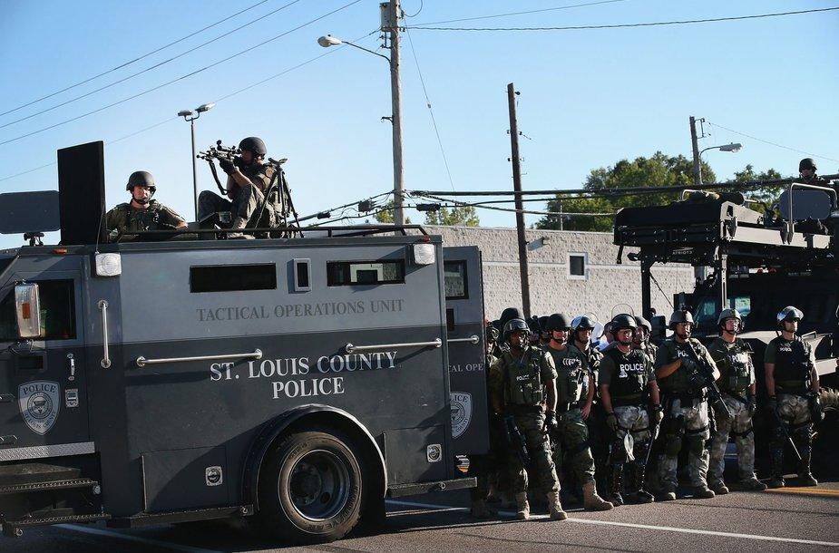 Protestai Fergusone