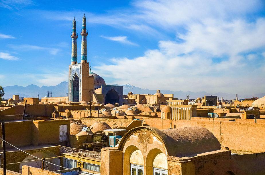 Jezdo istorinis centras, Iranas