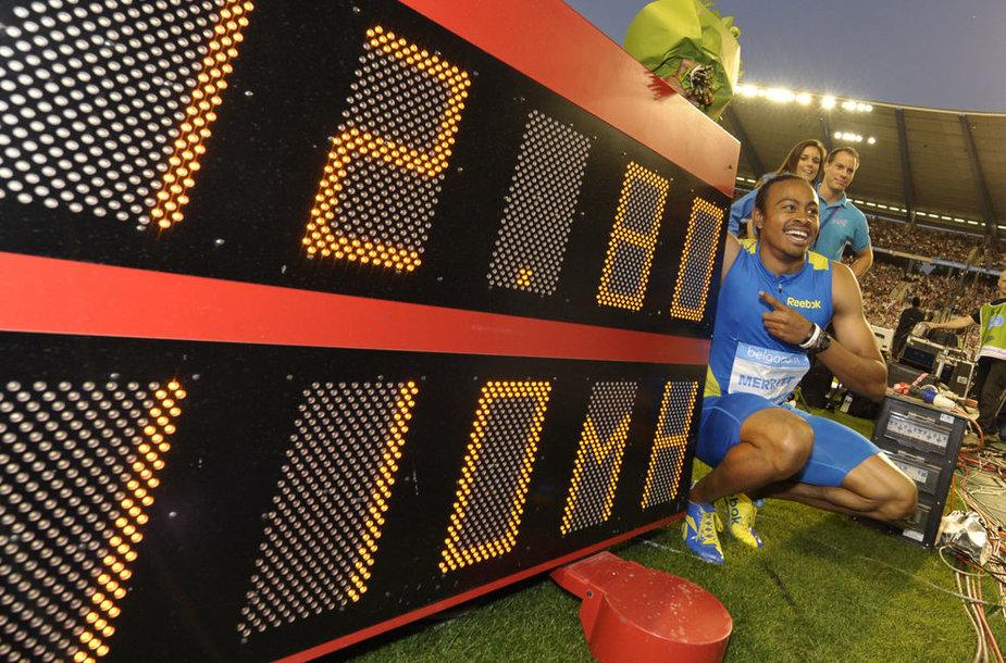 Ariesas Merrittas - pasaulio rekordininkas