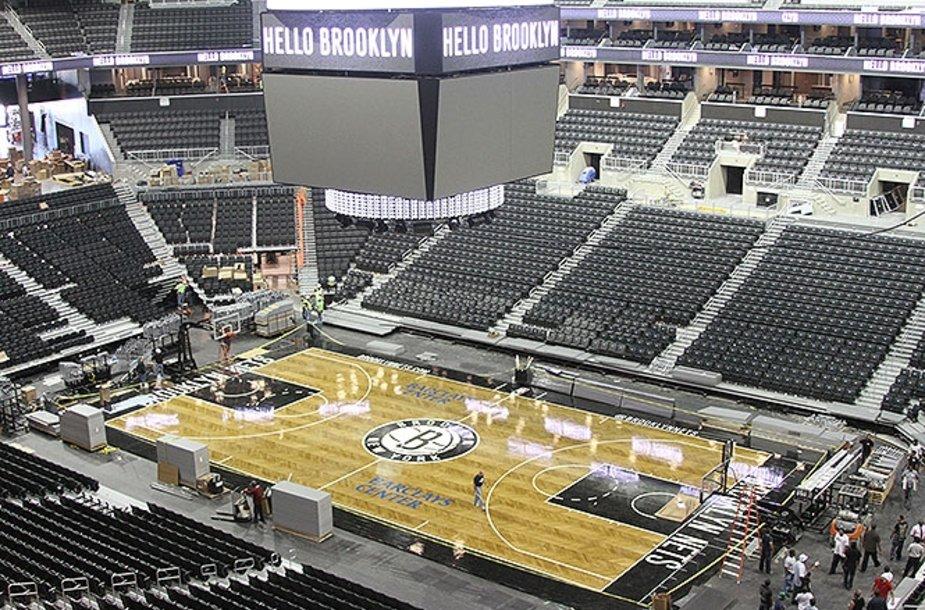 """Bruklino """"Nets"""" ekipos naujoji arena"""