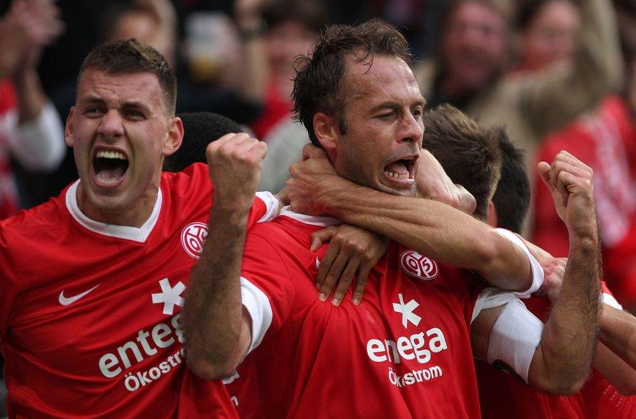 """""""Mainz"""" futbolininkų džiaugsmas"""