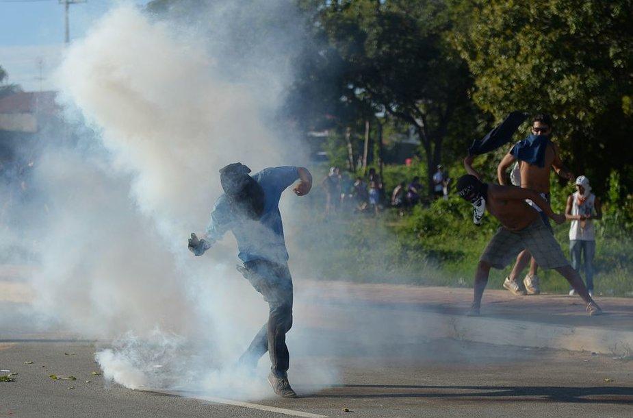 Protestai Brazilijoje