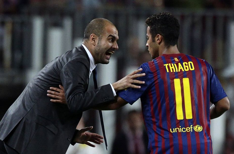 Pepas Guardiola ir Thiago
