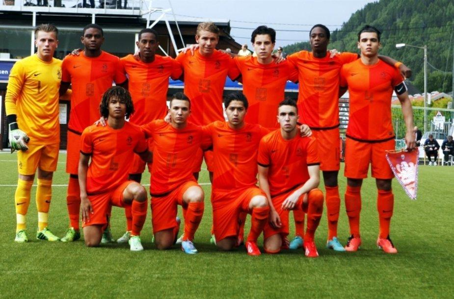 Nyderlandų U-19 futbolo rinktinė.