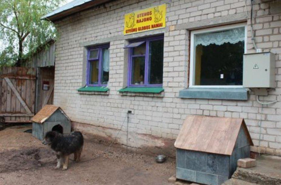 Utenos gyvūnų globos namai