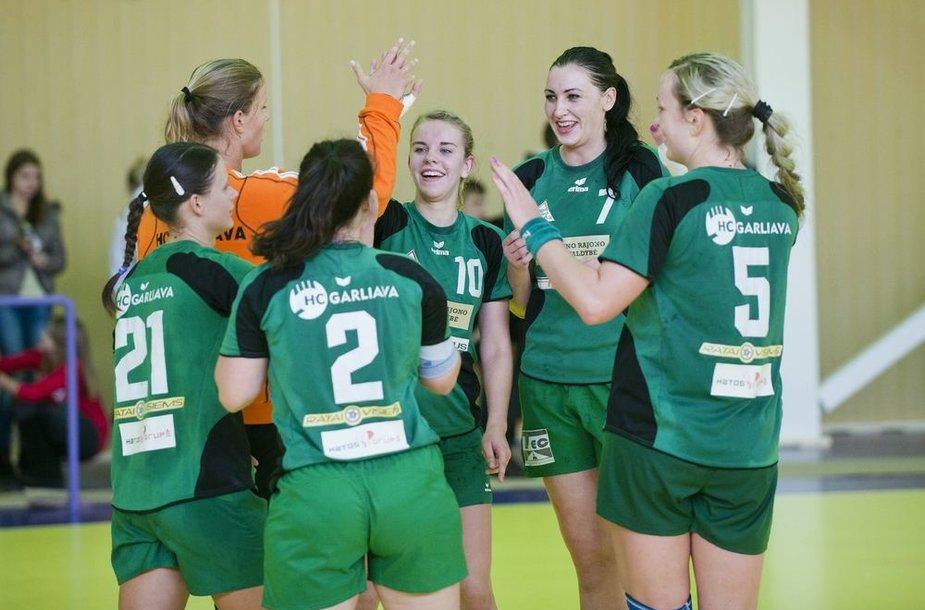 Lietuvos moterų rankinio čempionate – Kauno rajono ekipos pergalė