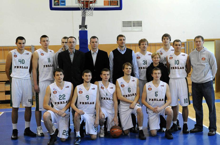"""Perlas-MRU"" NKL čempionate įveikė ""Dzūkiją"" 86:75"
