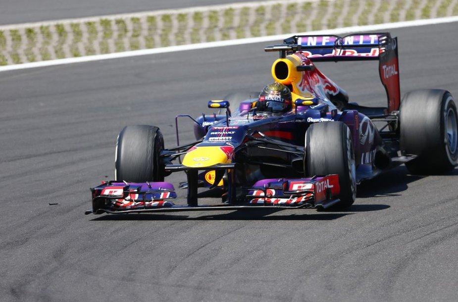 Sebastianas Vettelis nugalėjo Vokietijos GP