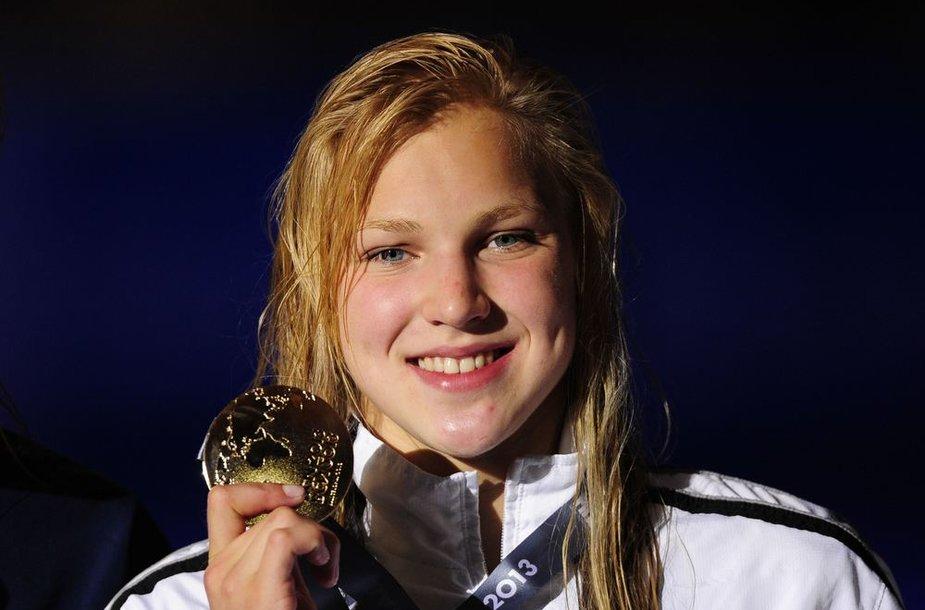 Rūta Meilutytė tapo pasaulio plaukimo čempione