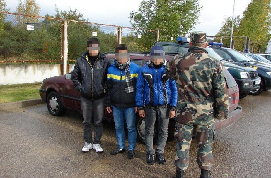 Sulaikyti, kaip įtariama, nelegalai iš Vietnamo