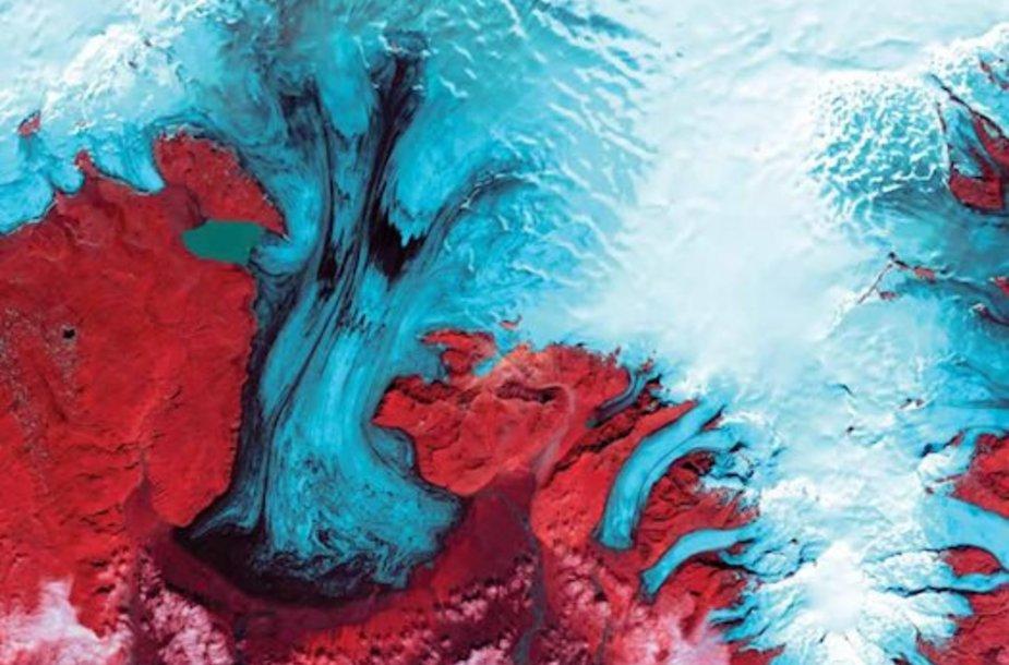 Vatnajokulio ledyno kepurė, Islandija