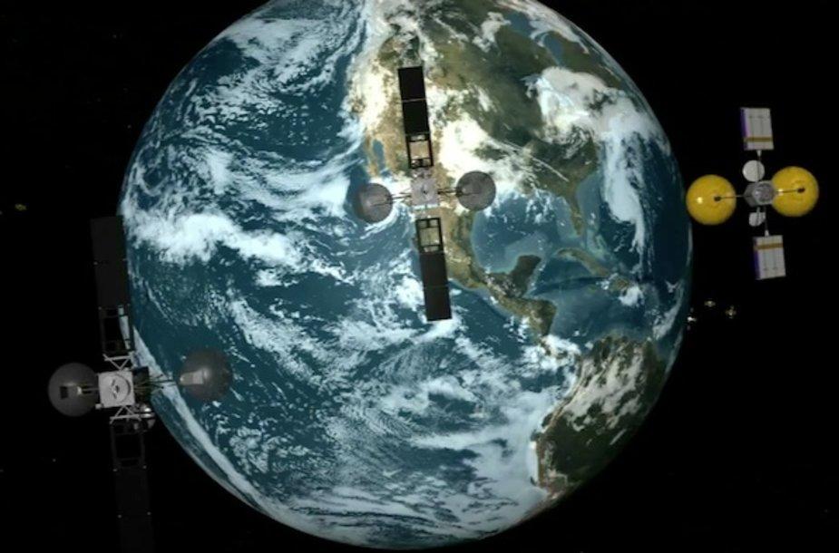 Sausio 30 dieną NASA į kosmosą paleido TDRS-K palydovą