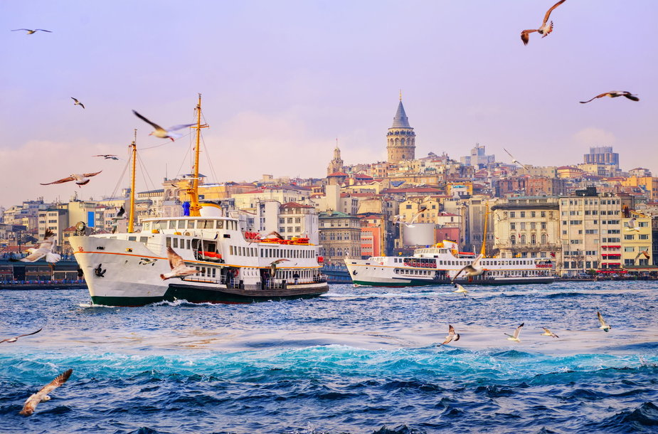 Stambulas ir Bosforas, Turkija