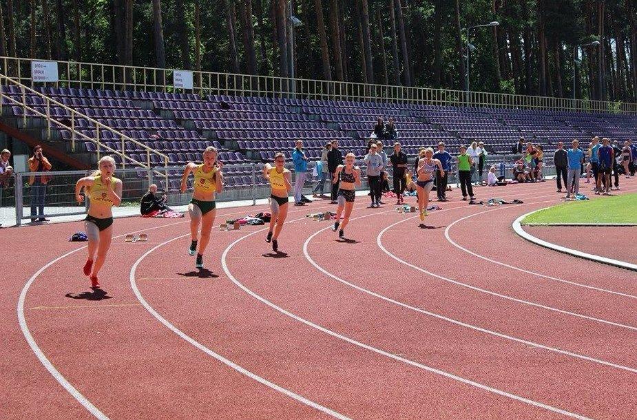 Deimantė Bedalytė startuoja 200 m rungtyje