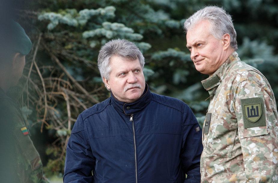 Vytautas Jonas Žukas ir Gitanas Nausėda