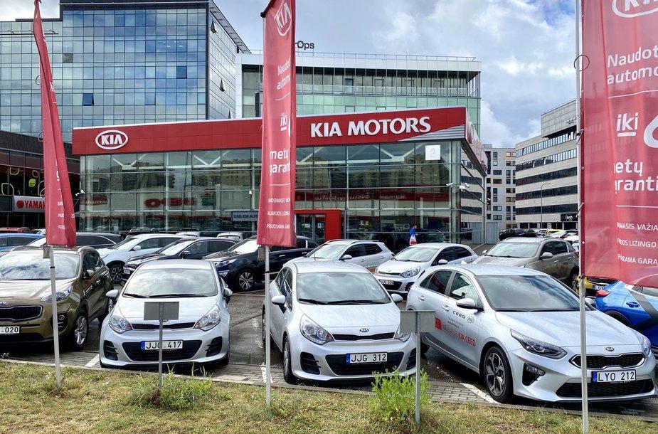 Kia automobilių salonas Vilniuje