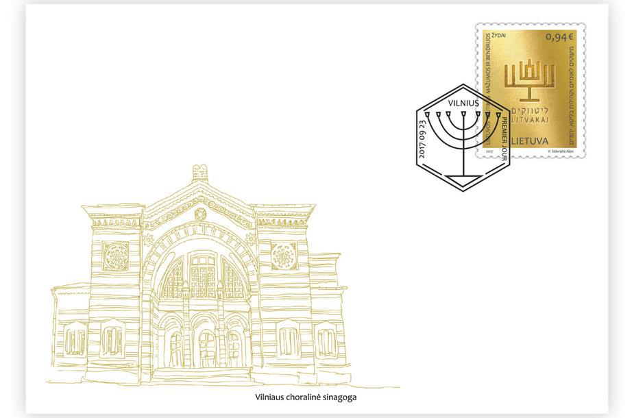 Pašto ženklas litvakų kultūrai atminti