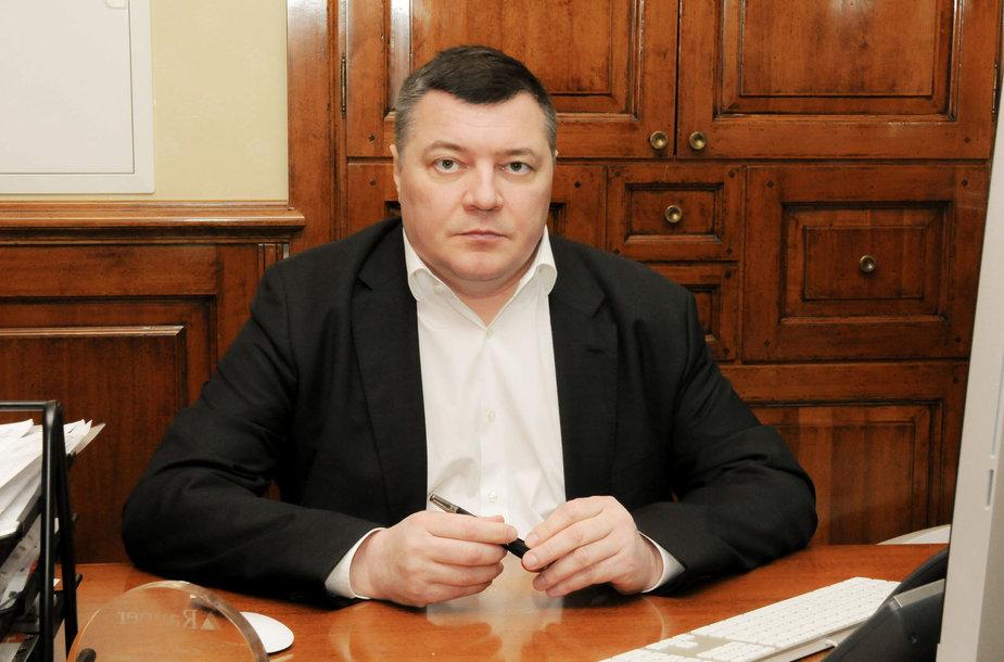 """Akių ligų klinikos """"Naujas regėjimas"""" direktorius Olegas Kovriguine"""