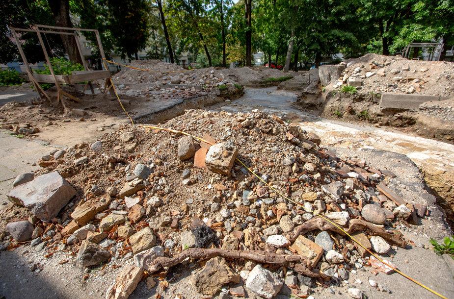 Didžiosios Vilniaus sinagogos archeologinių tyrimų vieta