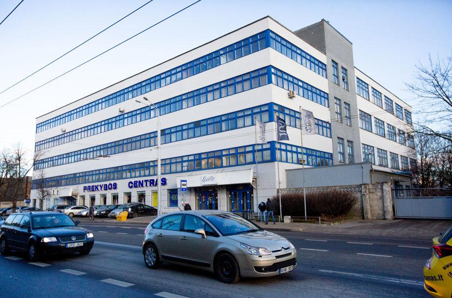 """""""Spartos"""" pastatas Vilniaus Naujamiesčio rajone"""