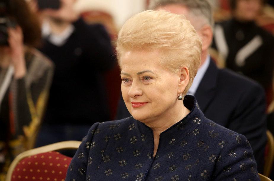 Prezidentė lankosi Vilniaus apskrities Adomo Mickevičiaus viešojoje bibliotekoje