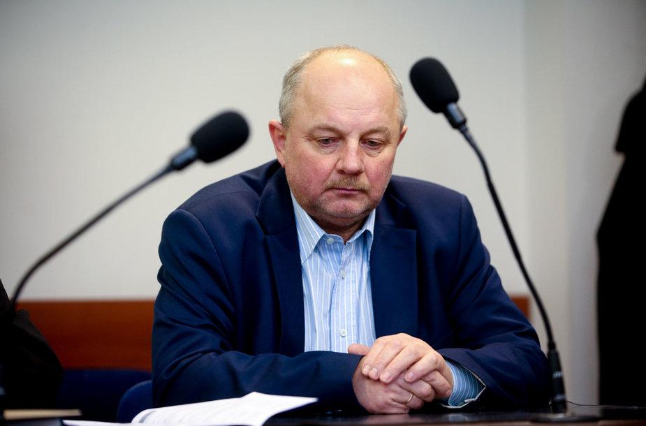 Gintautas Mikolaitis teisme