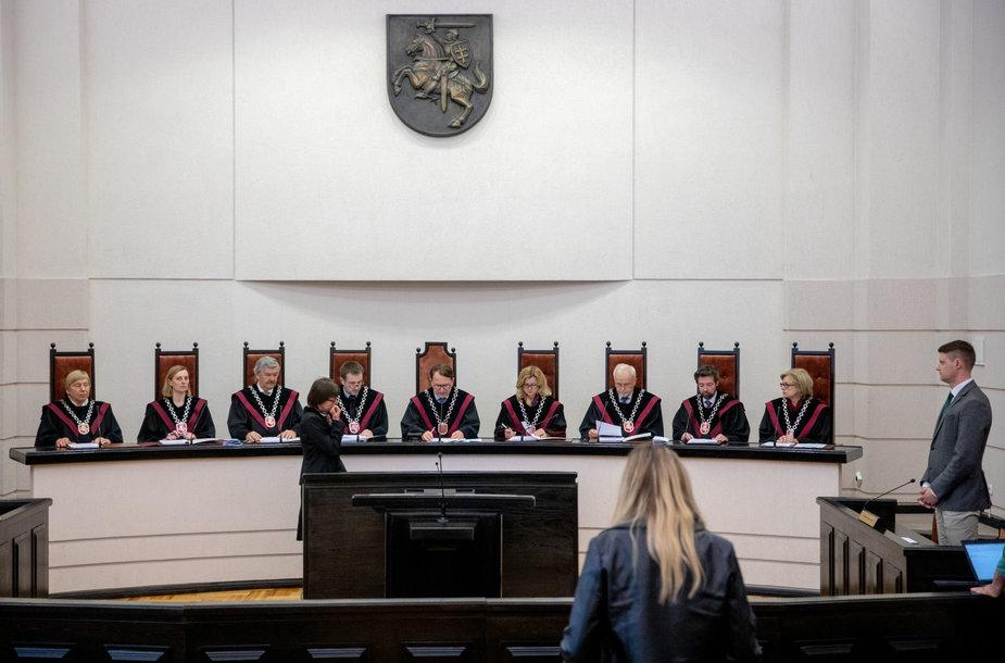 Konstitucinio teismo sprendimas dėl Seimo LRT tyrimo teisėtumo