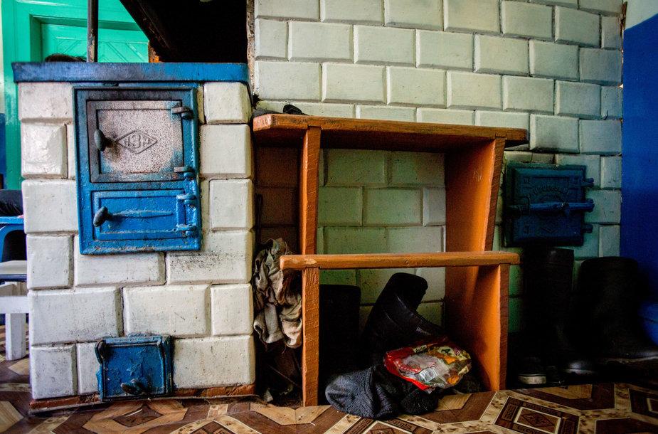 Juzeko iš Katros kaimo pirkios interjeras