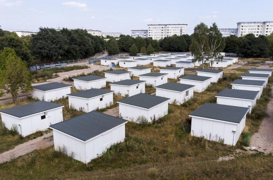Hamburge parduoti pabėgėlių nameliai