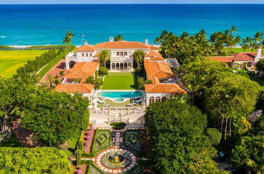 Vienas brangiausių parduodamų namų Floridos valstijoje