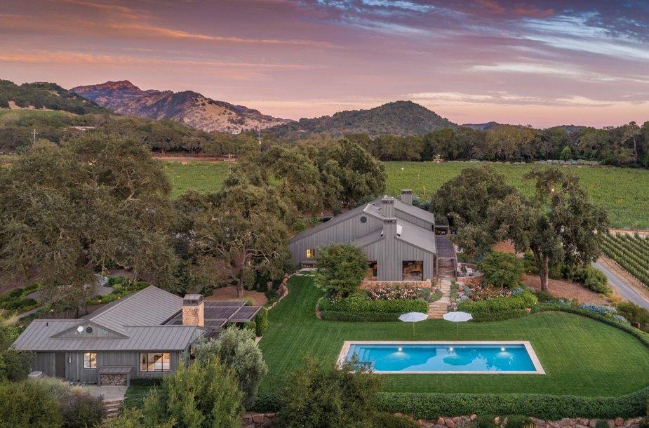 Parduodamas pats brangiausias namas Napos slėnyje Kalifornijoje