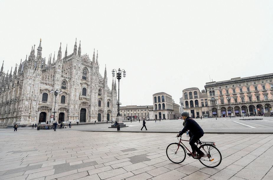 Karantinas Italijoje