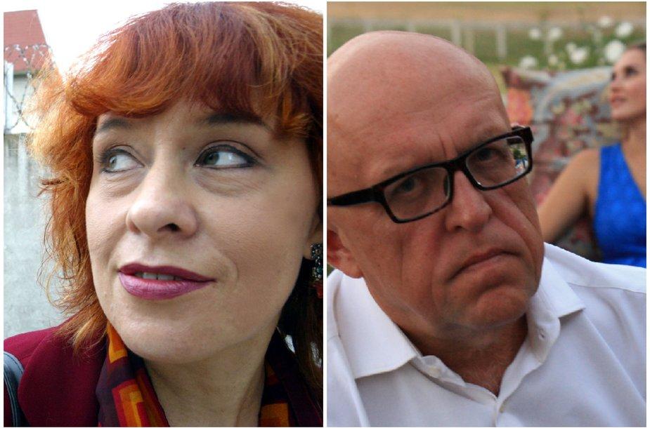 Jurga Ivanauskaitė ir Saulius Tomas Kondrotas